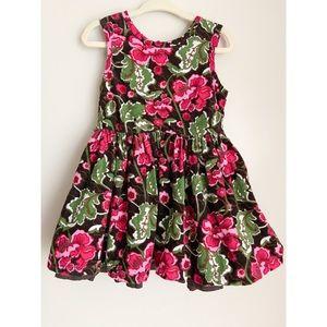 NEWBERRY Corduroy Floral Dress